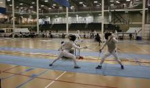 Fencing photo at the LRC