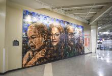 Art installation at the LRC