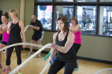 Leduc Recreation Centre - Battle Ropes