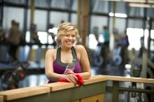Leduc Recreation Centre - Fitness Centre - woman