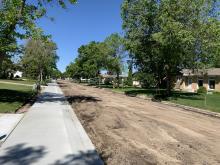 Nootka road excavation - June 16