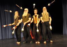 Image of Mud Bay Jugglers performing at MacLab Centre