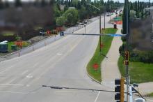 Grant MacEwan Boulevard; June 18