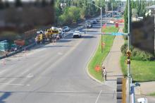 Grant MacEwan Boulevard; June 4