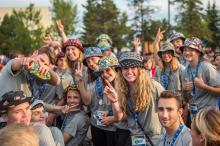 2016 - Alberta Summer Games - crowd