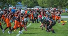 2016 - Alberta Summer Games - football