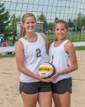 2016 - Alberta Summer Games - beach volleyball