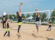 2016 - Alberta Summer Games - beach volleyball 2