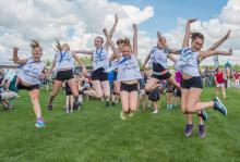 2016 - Alberta Summer Games - cheering