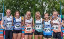 2016 - Alberta Summer Games - track team