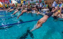 2016 - Alberta Summer Games - swimmers