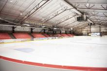 Sobey's Performance Arena - Canada Cup set-up