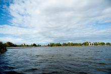Panoramic shot of Telford Lake